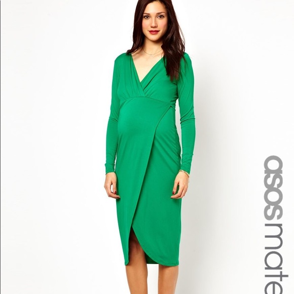 ASOS Dresses | Maternity Wrap Dress | Poshmark